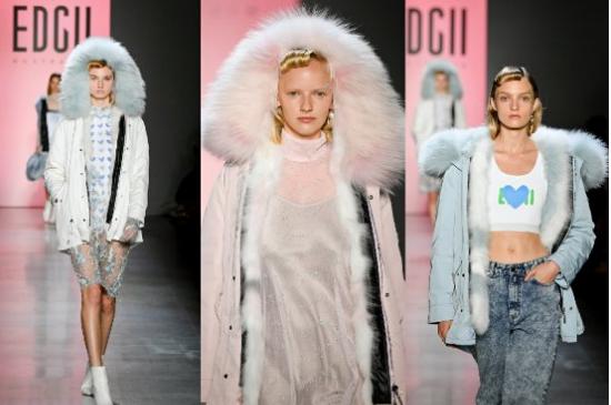 澳洲轻奢品牌EDGII点燃纽约时装周,仙翻全球!