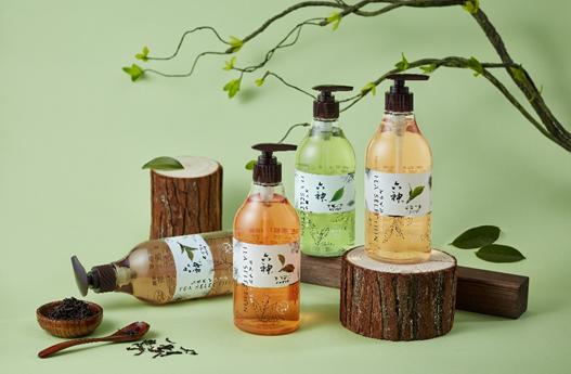 六神茗茶植萃沐浴露,探寻茶多酚的养肤力量