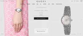 继虚拟试鞋后唐三揉,Gucci 又推出 AR 手表试戴功能