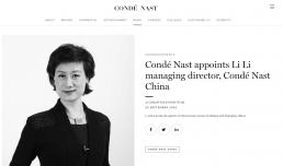 人事丨康泰纳仕任命中国总经理;Calvin Klein的母公司PVH任命新CEO