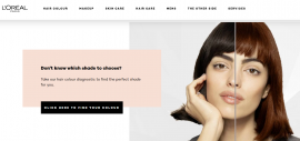 欧莱雅集团宣布与谷歌合作眼中找:为通过Google搜索美容产品的消费者提供虚拟试妆服务