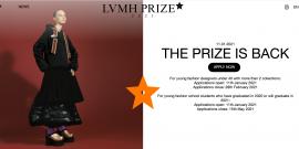 第八届 LVMH Prize 青年设计师大奖赛开放报名申请,2月28日截止