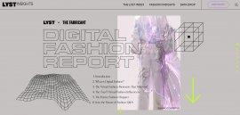 """深度 """"虚拟时装""""将是明天的街头时尚吗?《2021数字时尚报告》by Lyst & The Fabricant"""